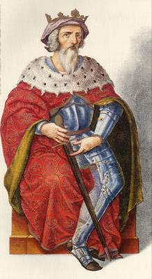 Миниатюра из Испанской королевской библиотеки. Король Маурегато (783 г.)
