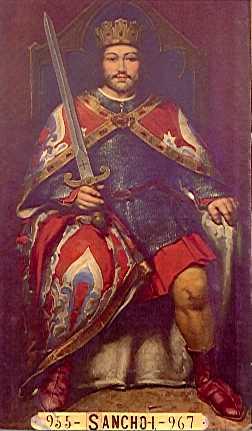 Король Санчо I.