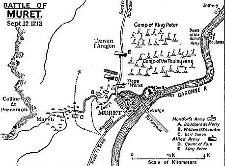 Сражение при Мюре 12 сентября 1213 года